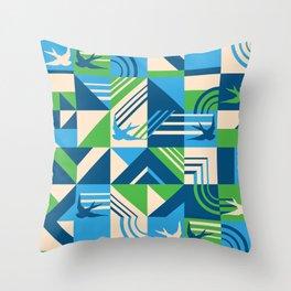 migrate Throw Pillow