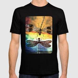 DRAGONFLY meets a Friend T-shirt