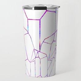 Quartz Geode Cluster Travel Mug