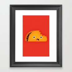Taco Framed Art Print