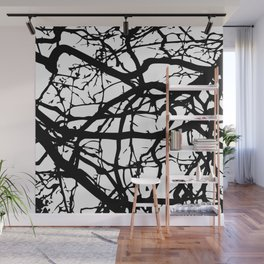 black branches Wall Mural