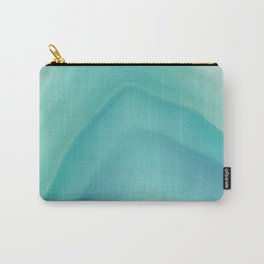 Geode Crystal Turquoise Carry-All Pouch