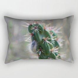 Fuzzy Caterpillar on Cactus 2 Rectangular Pillow