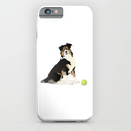 Australian Shepherd Dog iPhone Case