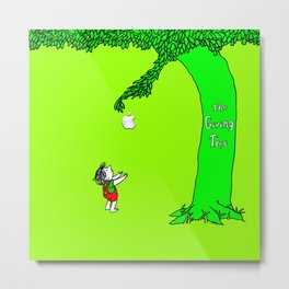 GIVING TREE Metal Print