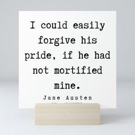 16     | Jane Austen Quotes | 190722 Mini Art Print