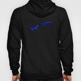 Underwater squid Hoody