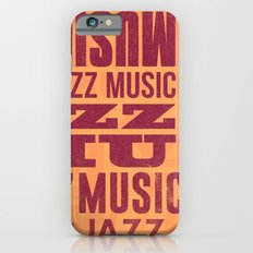 Jazz Poster iPhone 6s Slim Case