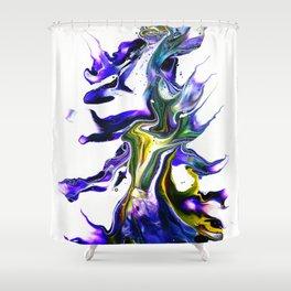 Color Dance Shower Curtain
