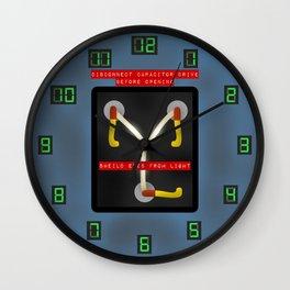 Flux Capacitor Wall Clock Wall Clock