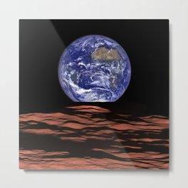 Good Morning Earth Metal Print