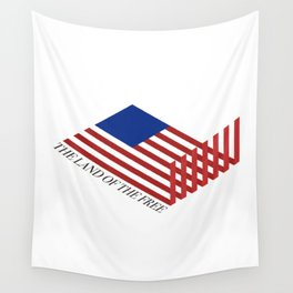 """""""The Land of the Free"""" Wall Tapestry"""
