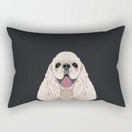Harper - Cocker Spaniel phone case gifts for dog people dog lovers presents Rectangular Pillow