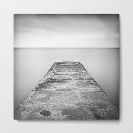 Step off the ledge Metal Print