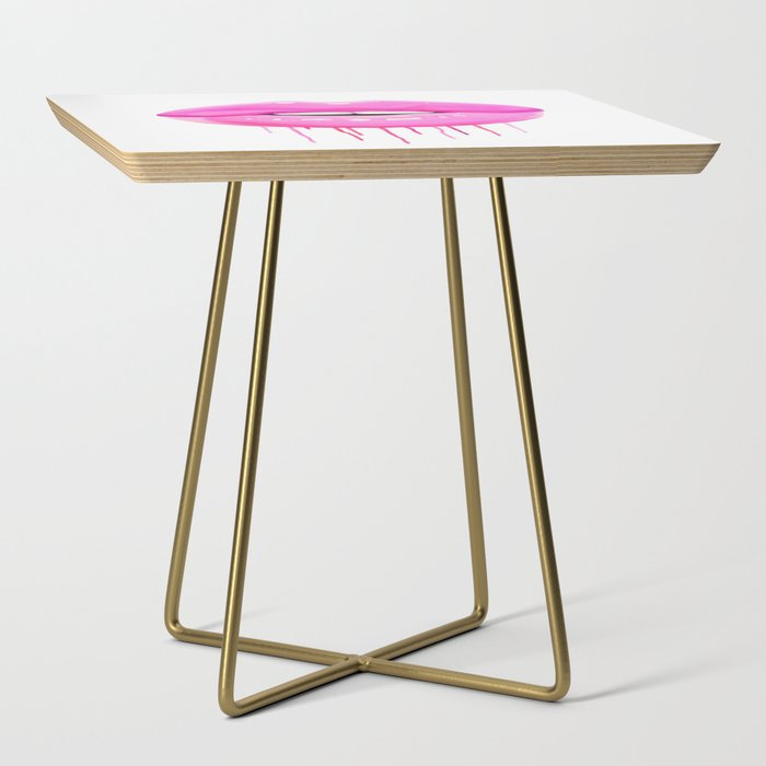 Pink lips Side Table