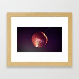 Bruised and Lovely Framed Art Print