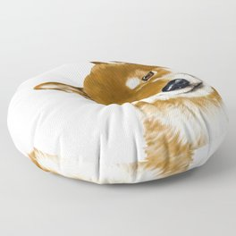Smile Shiba Inu Floor Pillow