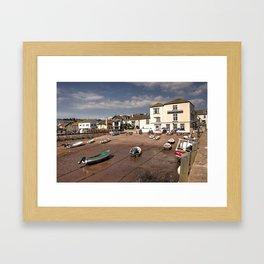 New Quay Inn  Framed Art Print