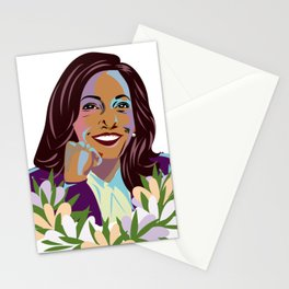 Madam Vice President for the People Stationery Cards