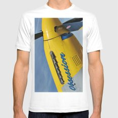 P51 Obsession Mens Fitted Tee MEDIUM White