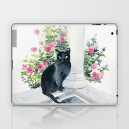 Guard Cat On Duty Laptop & iPad Skin