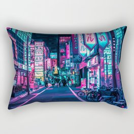 A Neon Wonderland called Tokyo Rectangular Pillow