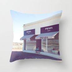 PradaMarfa Throw Pillow