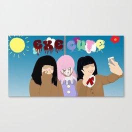 ExeCute - Freak Show Canvas Print