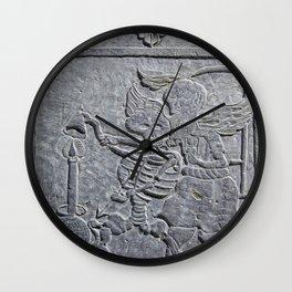 TEMPUS ERAT Wall Clock