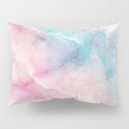 Iridescent marble Pillow Sham