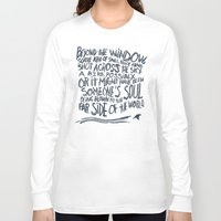 murakami Long Sleeve T-shirts featuring BIRD OR SOUL by Josh LaFayette