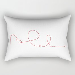 blah... Rectangular Pillow