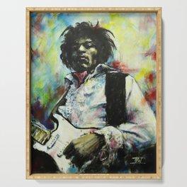 Jimi Hendrix Serving Tray