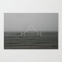 H2O (Water) Version 2 Canvas Print