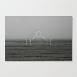 H2O (Water) Version 2 Canvas Print