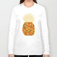 pineapple Long Sleeve T-shirts featuring Pineapple by Picomodi