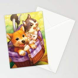 Sunny Ride Stationery Cards