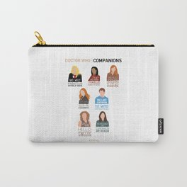 Doctor Who | Companions (alternate version) Carry-All Pouch