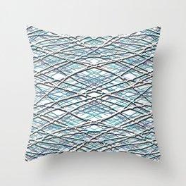 Winter Edge Throw Pillow