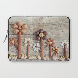 Dried fruits arranged forming flowers (3) Laptop Sleeve