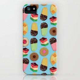 Assorted Cookie Pattern iPhone Case