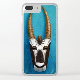 Spirit of the Orynx Clear iPhone Case