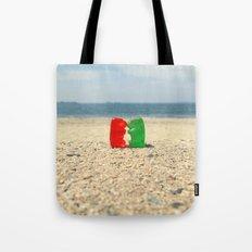 Gummy Bear Beach Kiss Tote Bag