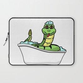 Bathtub snake Laptop Sleeve