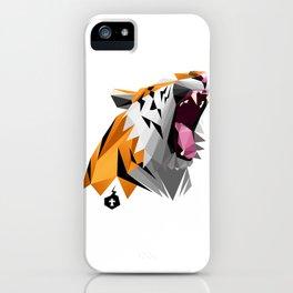 TML polygon tiger ROAR!!! iPhone Case