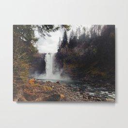 Snoqualmie Falls, WA Metal Print
