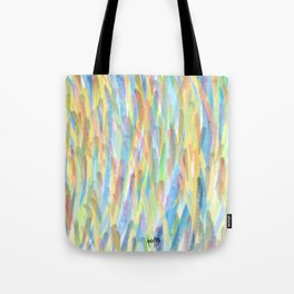 first light falls upon the heavens / solår sunrize Tote Bag