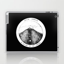 Biffy Clyro - Mountains lyrics Laptop & iPad Skin