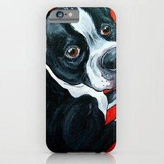 Boston Terrier Dog  iPhone 6s Slim Case