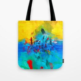 Modern Abstract Two Tote Bag